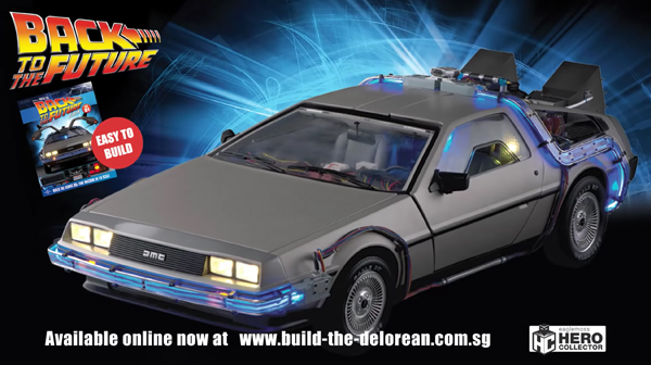 Build The Delorean
