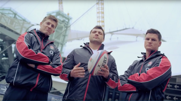 England Rugby Take On The O2